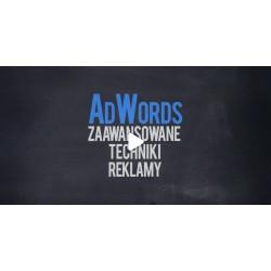 Kurs AdWords - zaawansowane...