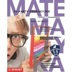 Karty edukacyjne matematyka