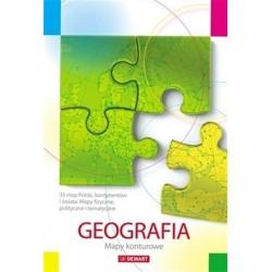 Geografia - mapy konturowe