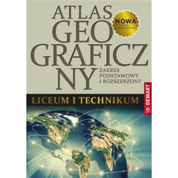 Atlas geograficzny liceum i...