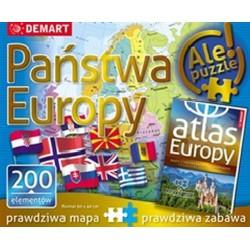 Puzzle edukacyjne - Państwa...