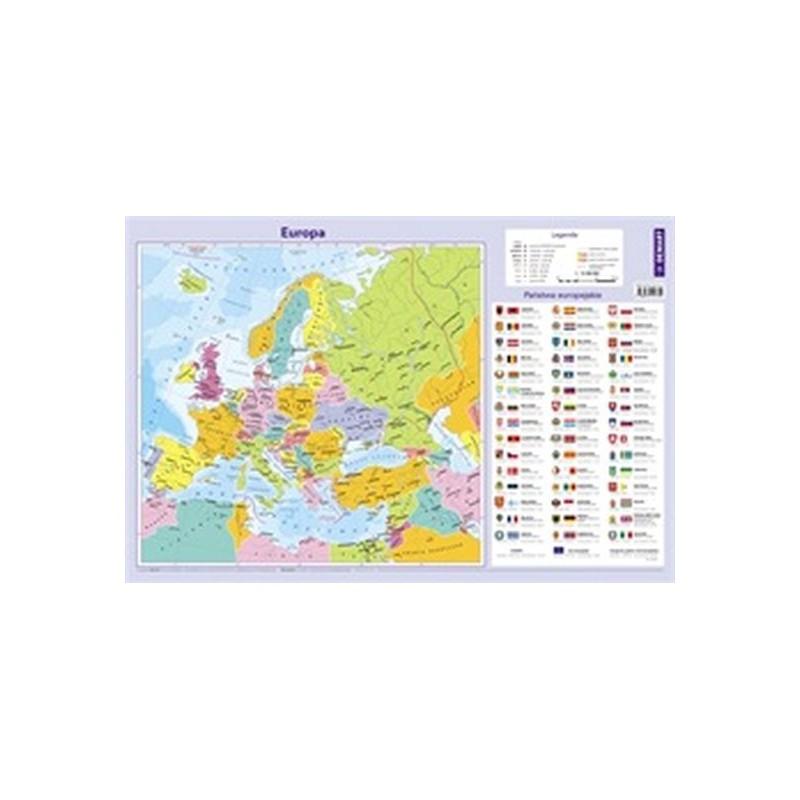 Mapa Europy podkładka na...